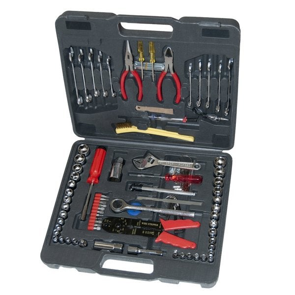 Great Neck 125-piece Multi-Purpose Tool Set with Case