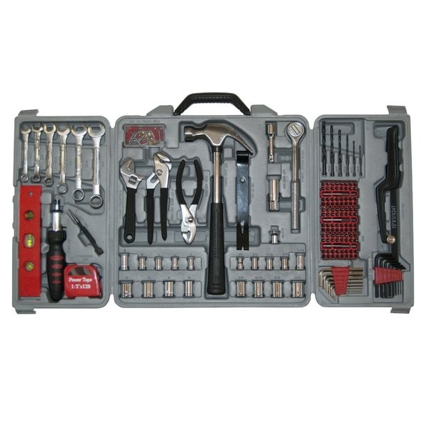 Great Neck 205-piece Home Tool Set with Carrying Case