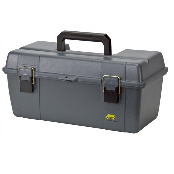 Plano 20-inch Tool Box with Lift-Out Tray, Grey