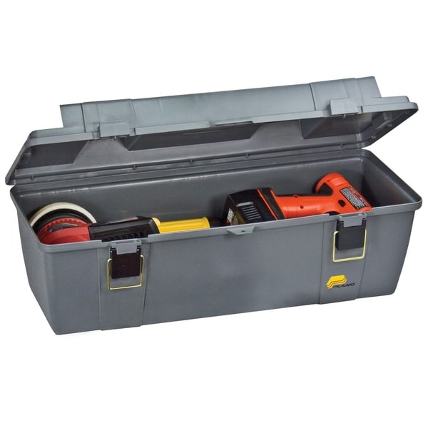 Plano 26-inch Grab N' Go Tool Box with Lift-Out Tray, Grey