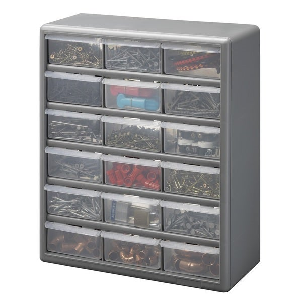 Stack-On 18 Drawer Storage Cabinet
