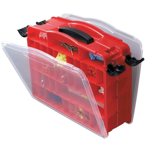 Plano Double Sided Lockjaw Organizer with 16-60 Compartment