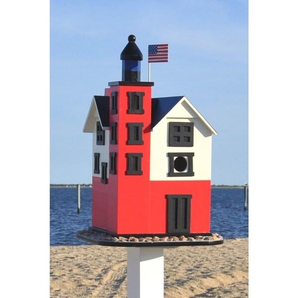 Round Island Lighthouse Birdhouse