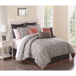 Grace Cotton Print 9-piece Comforter Set