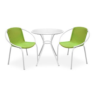 Somette Portico Lime 3-Piece Patio Set