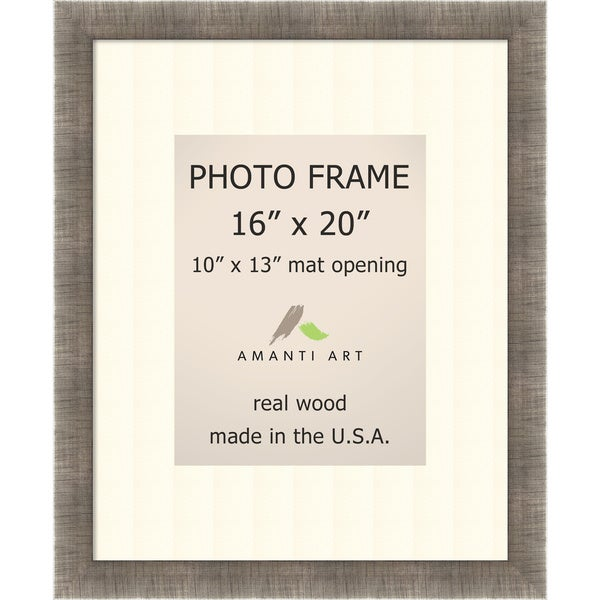 Silver Leaf Photo Frame 19 x 23-inch
