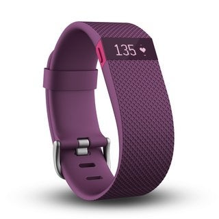 Fitbit Charge HR Activity, Heart Rate + Sleep Small Plum