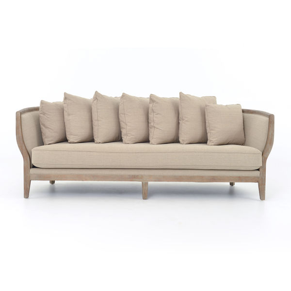 Addison Natural Single Cushion Sofa