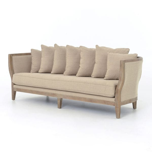 Addison Natural Single Cushion Sofa 17570211 Shopping The Best Prices On