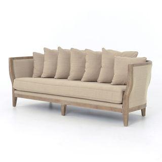 Addison Natural Single Cushion Sofa
