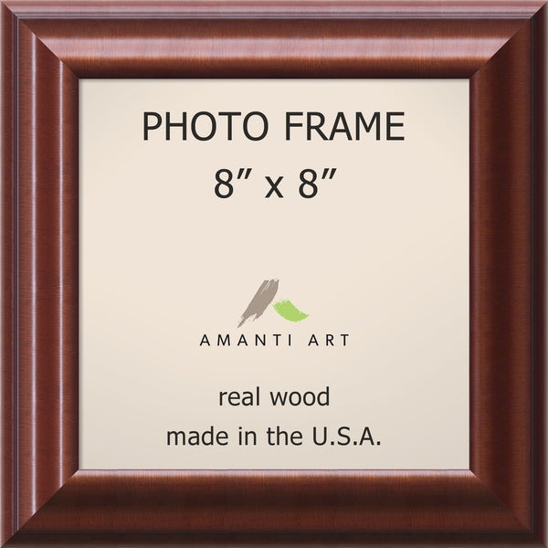 Luminous Walnut Photo Frame 10 x 10-inch