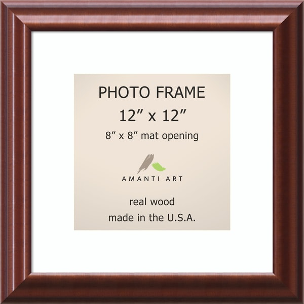 Luminous Walnut Photo Frame 15 x 15-inch