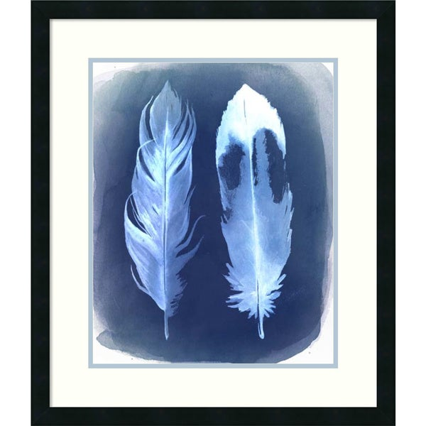 Grace Popp 'Feather Negatives II' Framed Art Print 24 x 28-inch 16089296