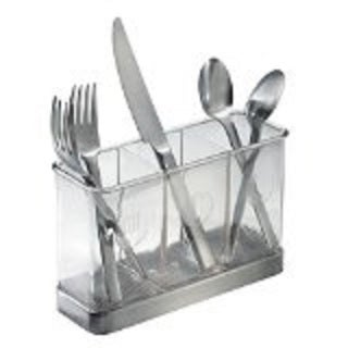 InterDesign Forma 3-Part Flatware Organizer