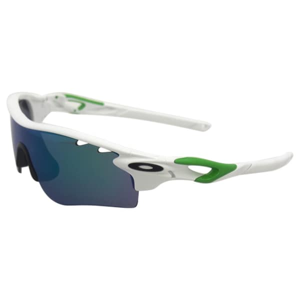 Oakley RadarLock OO9181-35 - Polished White/Jade Iridium