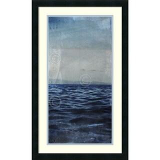 Sven Pfrommer 'Ocean Eleven III (right)' Framed Art Print 18 x 30-inch