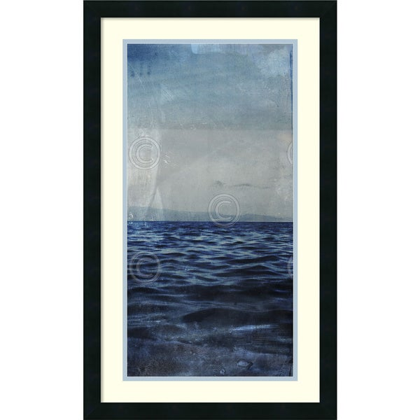 Sven Pfrommer 'Ocean Eleven III (right)' Framed Art Print 18 x 30-inch