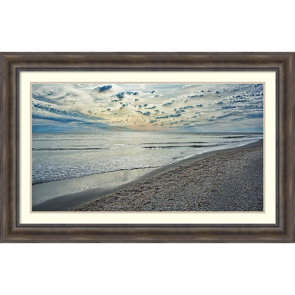 David Liam Kyle 'Serenity Shoreline' Framed Art Print 46 x 30-inch
