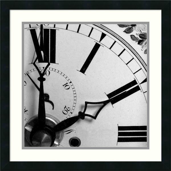 PhotoINC Studio 'Clockwork 4' Framed Art Print 22 x 22-inch