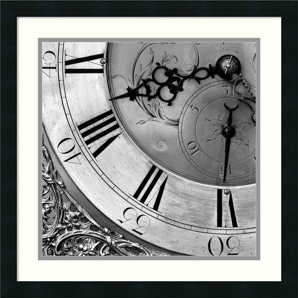 PhotoINC Studio 'Clockwork 2' Framed Art Print 22 x 22-inch