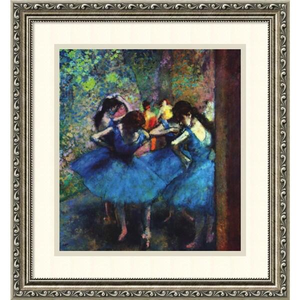 Edgar Degas 'Ballerinas' Framed Art Print 17 x 18-inch