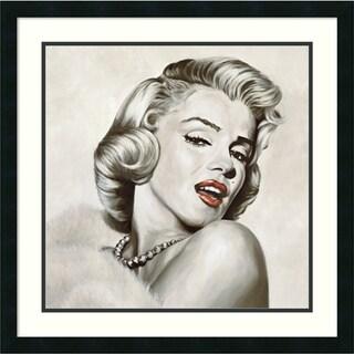Frank Ritter 'Dazzle' Framed Art Print 26 x 26-inch