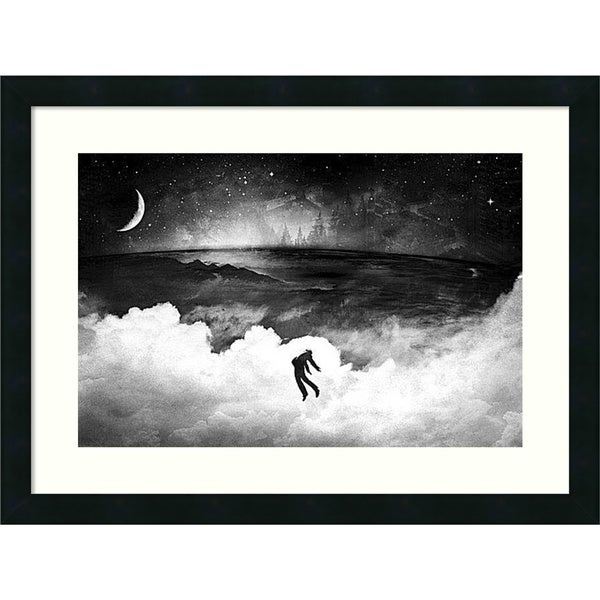 Alex Cherry 'Lost in the World' Framed Art Print 24 x 18-inch