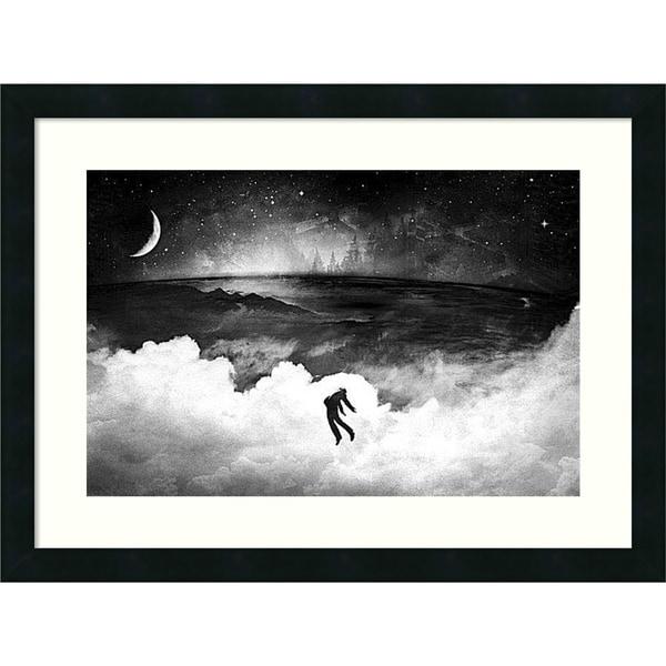 Alex Cherry 'Lost in the World' Framed Art Print 24 x 18-inch