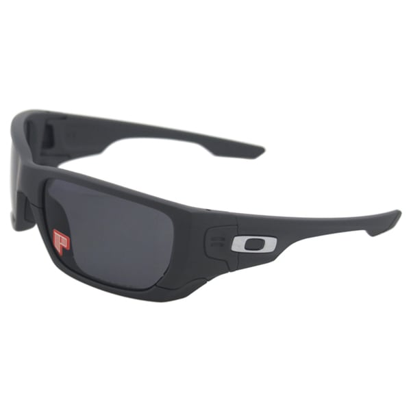 Oakley Style Switch OO9194-07 - Matte Dark Grey/Grey Polarized Fire Iridium