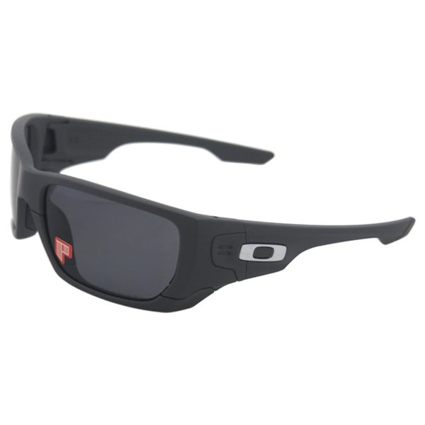 Oakley Style Switch OO9194-07 - Matte Dark Grey/Grey Polarized Fire Iridium