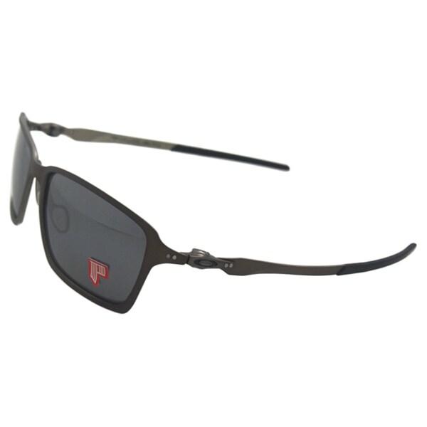 Oakley Tincan OO4082-06 - Pewter/Black Iridium Polarized