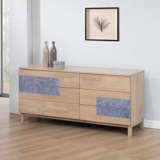 Nordic 6-Drawer Dresser