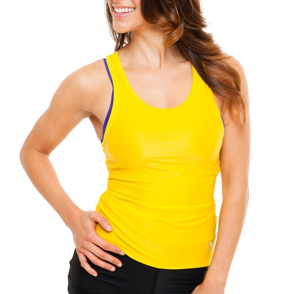 Women's Yellow Razorback Tank Top