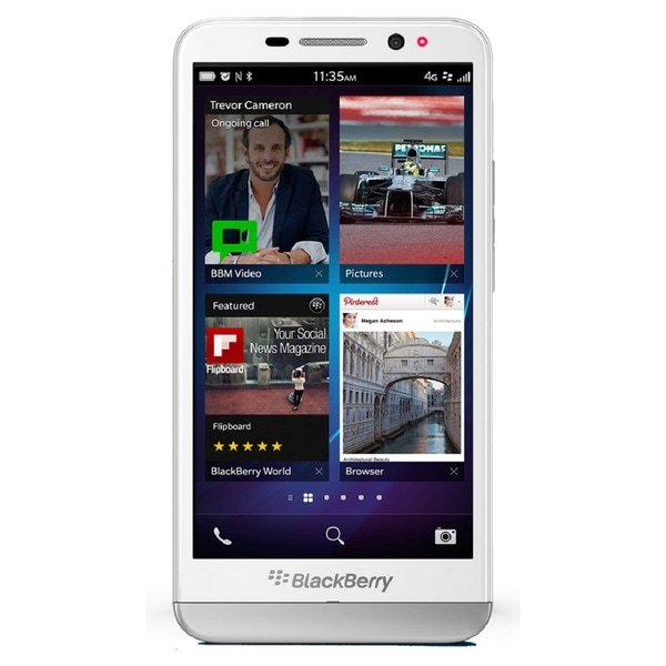 Blackberry Z30 STA100-2 16GB Unlocked GSM 4G LTE OS 10.2 Cell Phone - White (Refurbished)