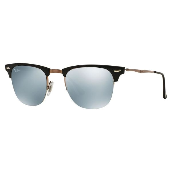 Ray-Ban Men's RB8056 Black Titanium Square Sunglasses