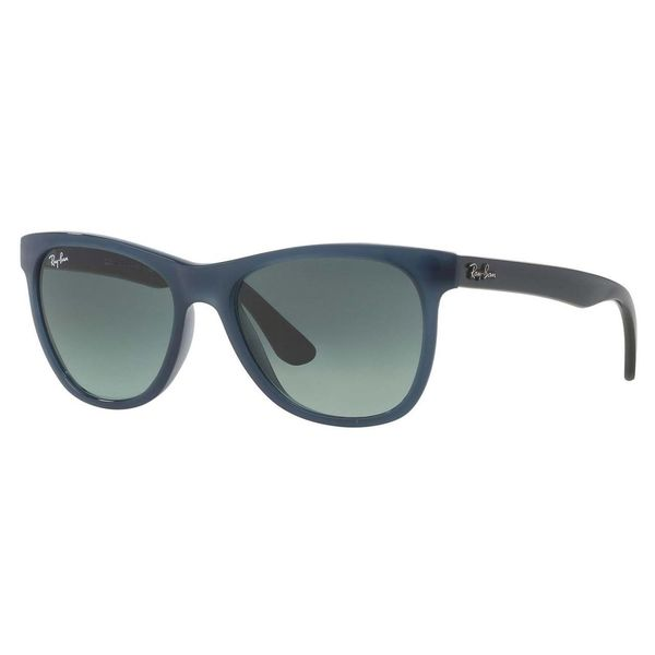 Ray-Ban Men's RB4184 Blue Plastic Square Sunglasses