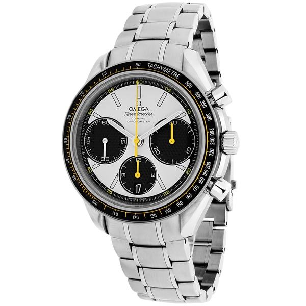 Omega Men's O32630405004001 'Speedmaster Racing Co-Axial' Chronograph Automatic Stainless Steel Watch