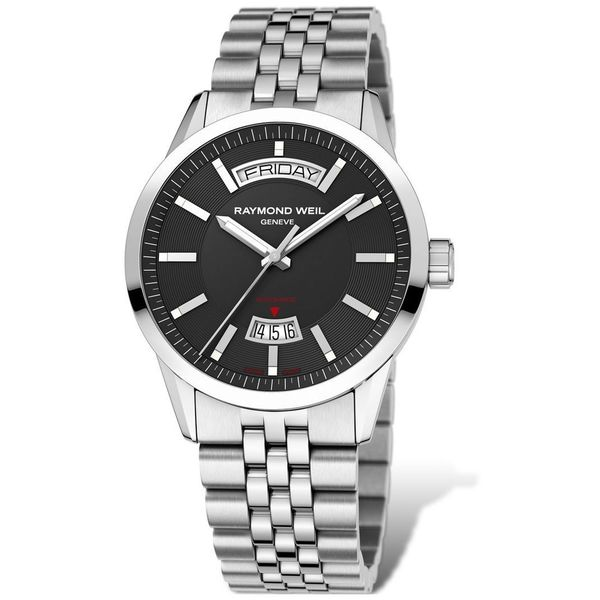 Raymond Weil Men's 2720-ST-20001 'Freelancer' Automatic Stainless Steel Watch