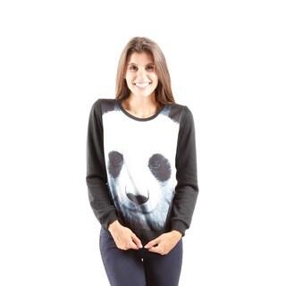 Hadari Women's Contemporary Printed Pull Over Sweater