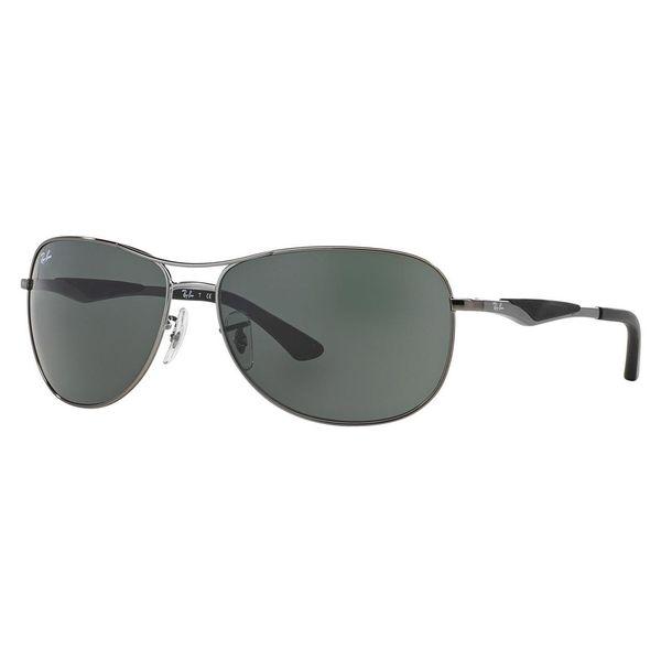 Ray-Ban Men's RB3519 Gunmetal Metal Pilot Sunglasses