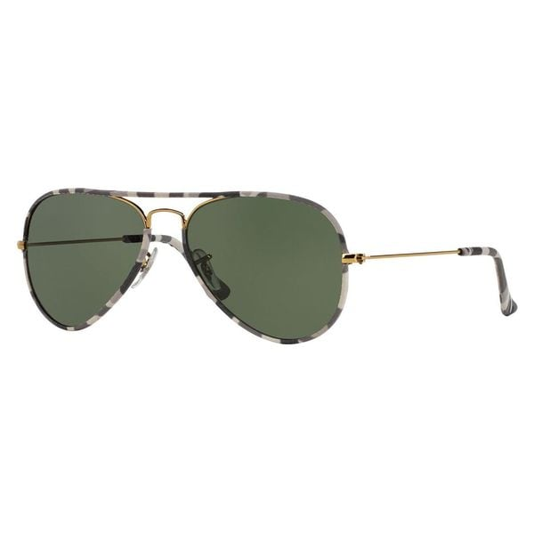 Ray-Ban Men's RB3025JM Multi Metal Pilot Sunglasses