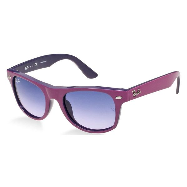 Ray-Ban Junior RJ9035S Pink Plastic Square Sunglasses