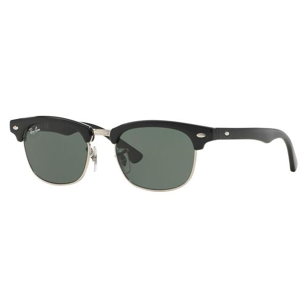 Ray-Ban Junior RJ9050S Black Metal Square Sunglasses