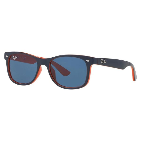 Ray-Ban Junior RJ9052S Blue Plastic Square Sunglasses