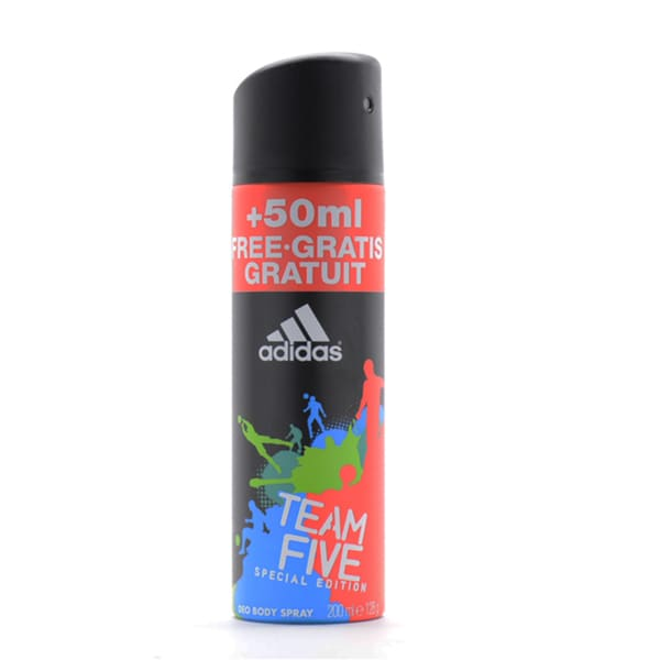 Adidas Team Five Special Edition Deodorant Body Spray for Men