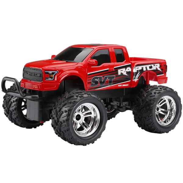 New Bright 1:18 2.4GHz Remote Control Red Ford Raptor