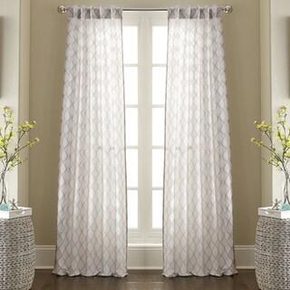 Raymond Jacquard Curtain Panel Pair
