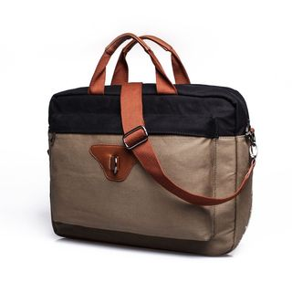 Something Strong, Men's, Color Blocked Canvas, Messenger Bag