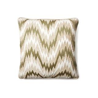 Miami Green 24-inch Cotton Pillow