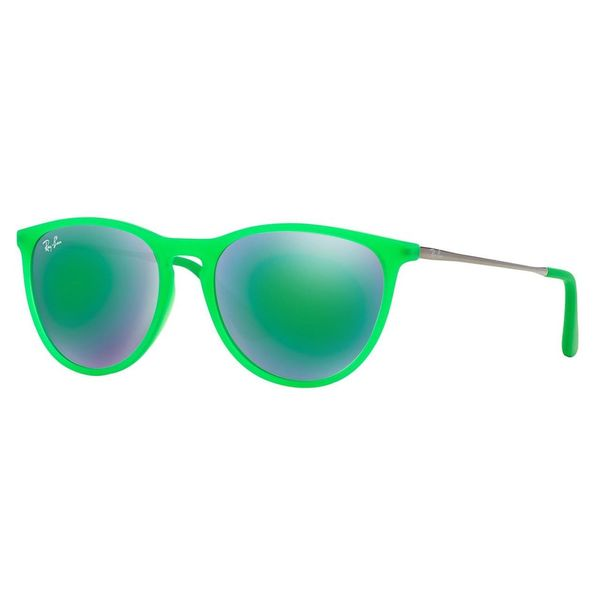 Ray-Ban Junior RJ9060S Green Plastic Phantos Sunglasses
